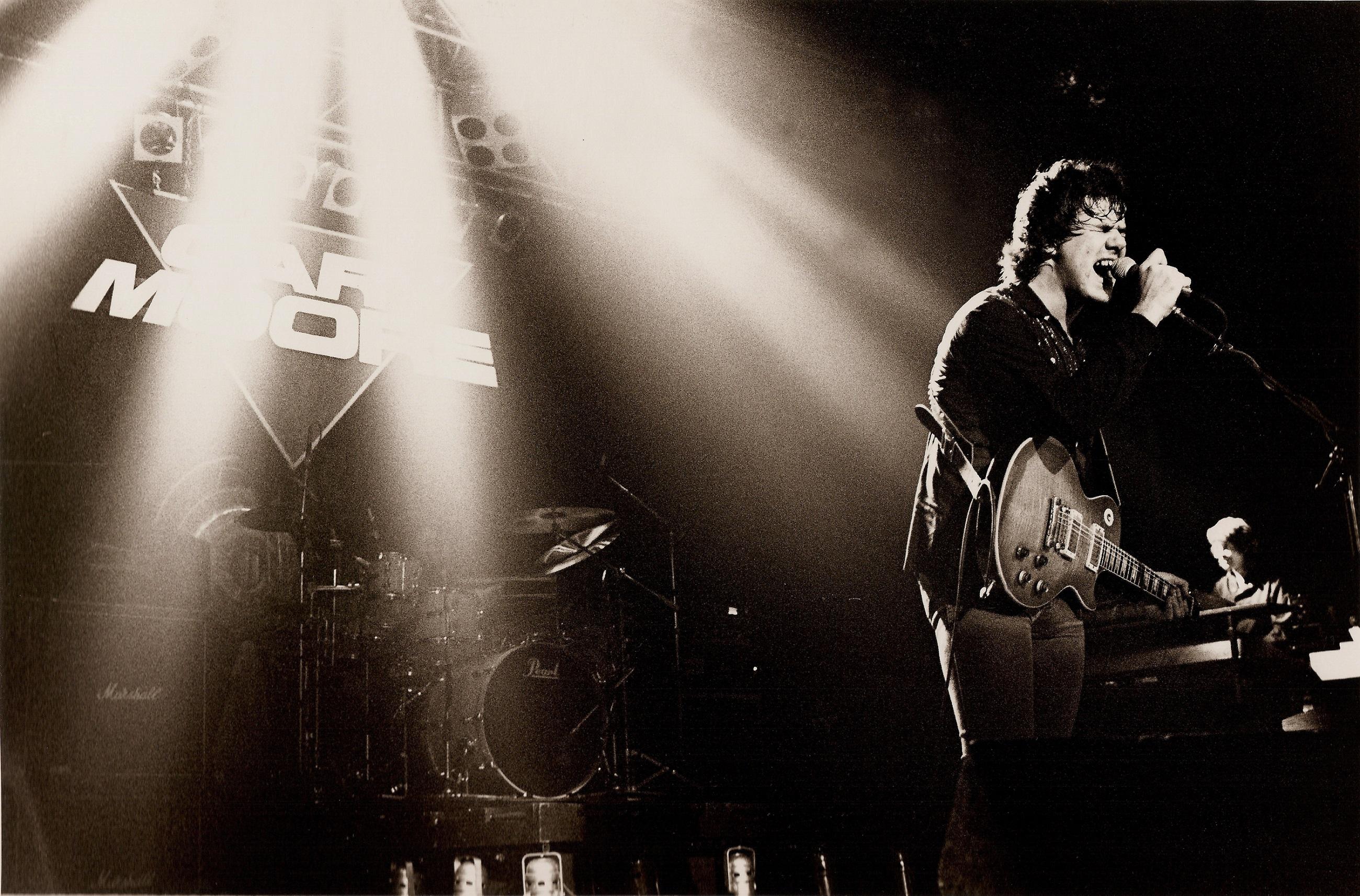 Gary Moore – hårdrocksgitarrist med blueskänsla